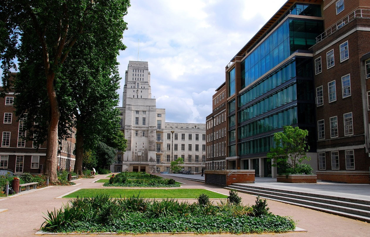 A view of Birkbeck University of London